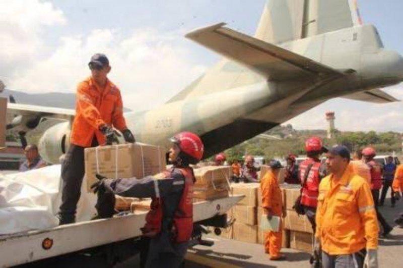 Venezuela volvió a enviar toneladas de  ayuda a México a pesar de la severa crisis de escasez que padece.